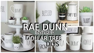 DOLLAR TREE RAE DUNN INSPIRED DIYS