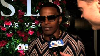 Jamie Foxx helps SLS Las Vegas celebrate it