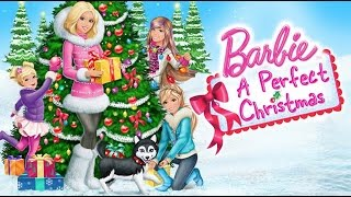 BARBIE in a PERFECT CHRISTMAS coloring pages