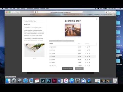 Online print ordering tutorial