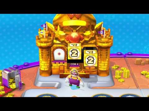 Mario Party 10 Playthrough Part 8 (EXTRA #4: amiibo Party - Silver Mario and Wario)
