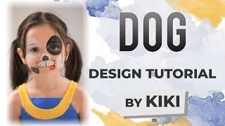 Dog Face Paint Tutorial
