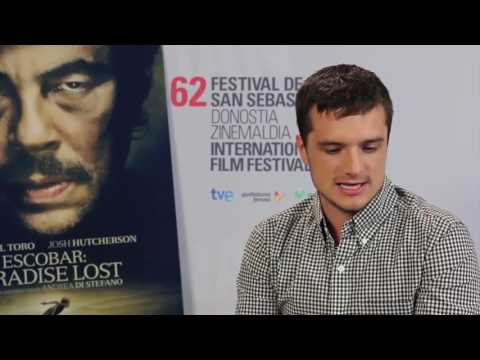 Josh Hutcherson INTERVIEW (HD) Escobar: Paradist Lost (2015 ...