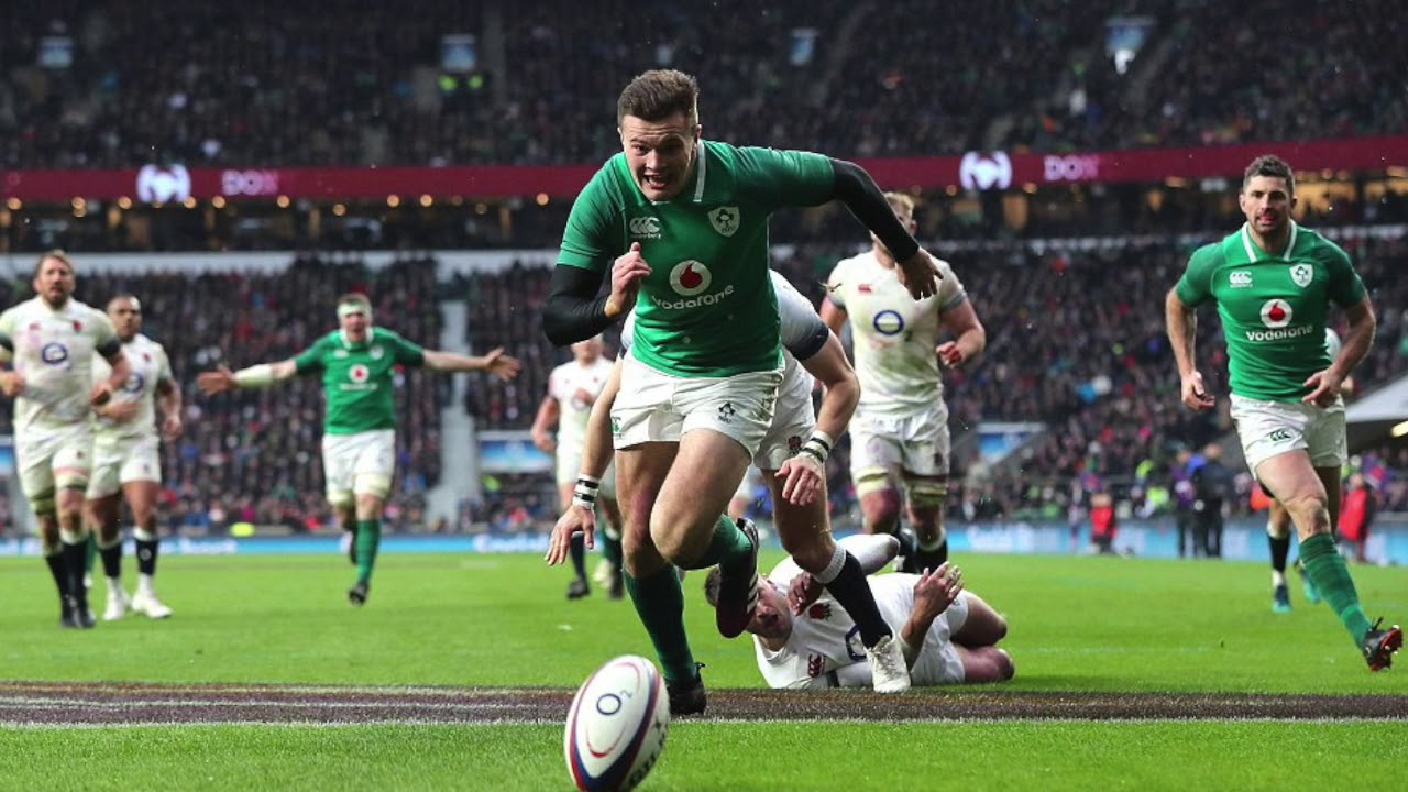 d884b323321 IRELAND winners of the Rugby Six Nations 2018: Ireland 24 - England 15.