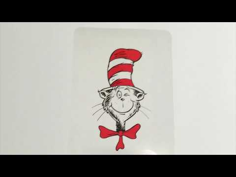 Learn to Count 1-10 with Dr. Seuss Flash Cards