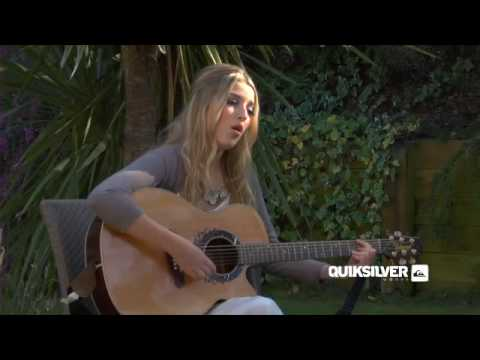 """Wine Glass"" Live by Quiksilver woman Leddra Chapman"