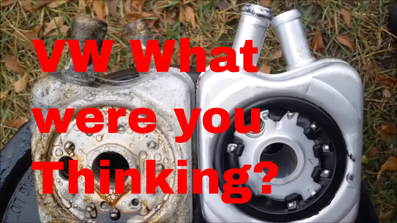 small resolution of oil in coolant what to do when you find oil in your antifreeze 2004 vw beetle fix