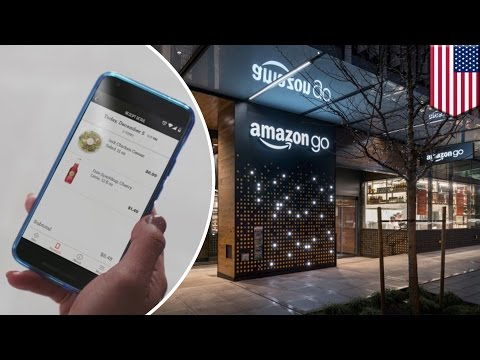 Amazon Go grocery store gets rid of long checkout lines, but might be a job killer - TomoNews