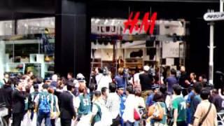 H&M Shibuya Opening Video