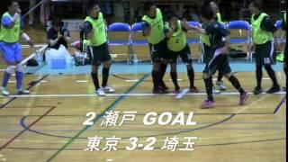 第31回全国選抜フットサル大会 関東大会 準決勝ハイライト