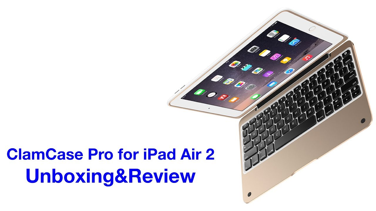 quality design 4c175 79653 Turn Your iPad into a MacBook (Sorta)! Incipio ClamCase Pro Unboxing&Review