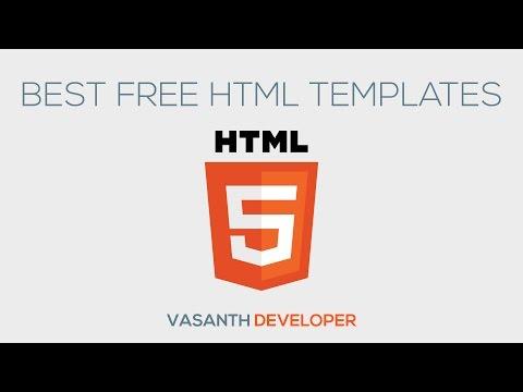 Best Free HTML Templates