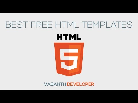 Best Free HTML Templates