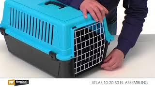 видео Клетка-перевозка для собак Ferplast Atlas Vision Small