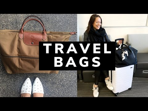 3 Must-Have Travel Bags | Away & Longchamp