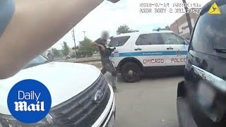 Chicago police release bodycam footage of Harith Augustus - Daily Mail