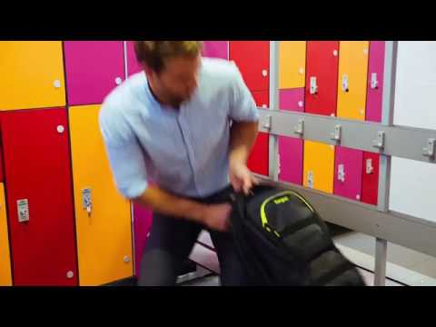 """Targus Work+Play Fitness Backpack best for Gym &  Sports, fits laptops up to 15.6"""""""