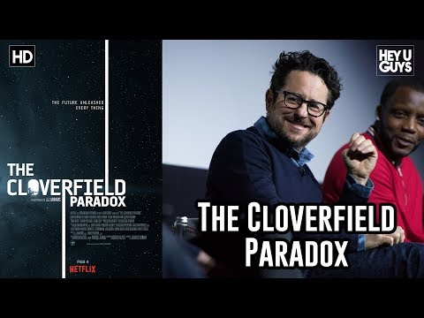 J.J. Abrams - The Cloverfield Paradox Q&A & The Superbowl Release