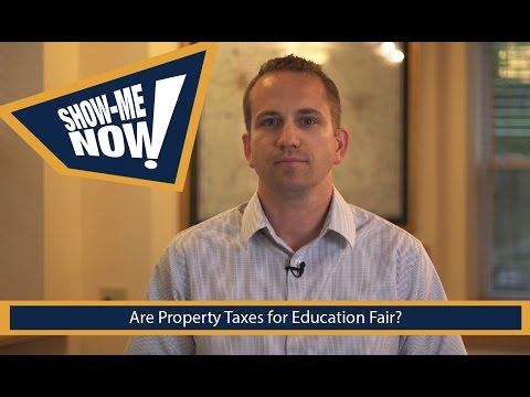 Are Property Taxes for Education Fair?