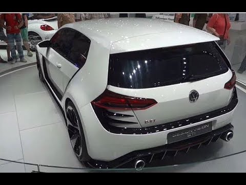 the VOLKSWAGEN Design Vision GTI Concept and Drive