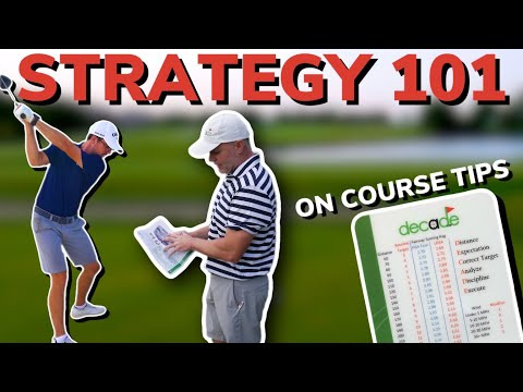 How Pros Play Golf. Nine Holes With Scott Fawcett(DECADE). Course Management Tips | Bryan Bros Golf