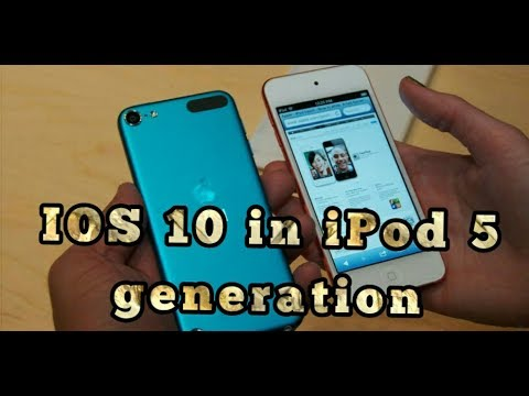 How To Get IOS 10 In Ipod Touch 5th Generation By Developer