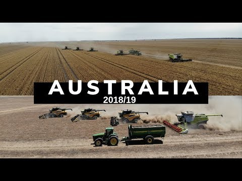 Australia Harvest 2018/19 [BEEFWOOD FARMS, HALCYON DOWNS, STEPHENS HARVESTING]