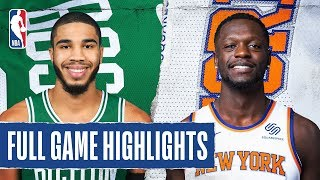 CELTICS at KNICKS | FULL GAME HIGHLIGHTS | December 1, 2019