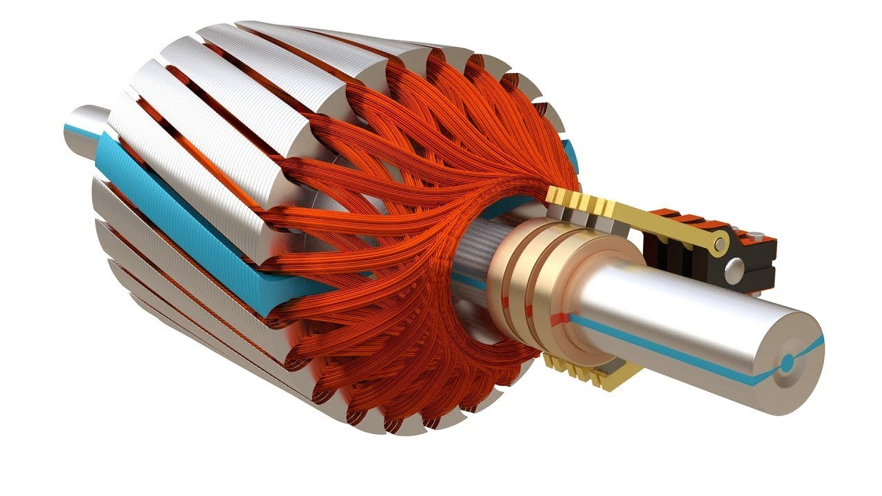 Slip ring Induction Motor, How it works ?