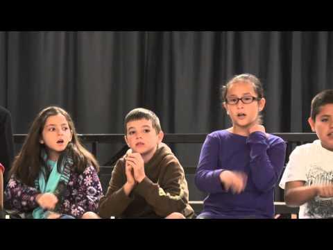 RAW VIDEO: Ben Hulse Elementary School students celebrate holiday season