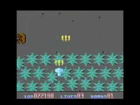 Tiger Attack - Atari 8-bit gameplay
