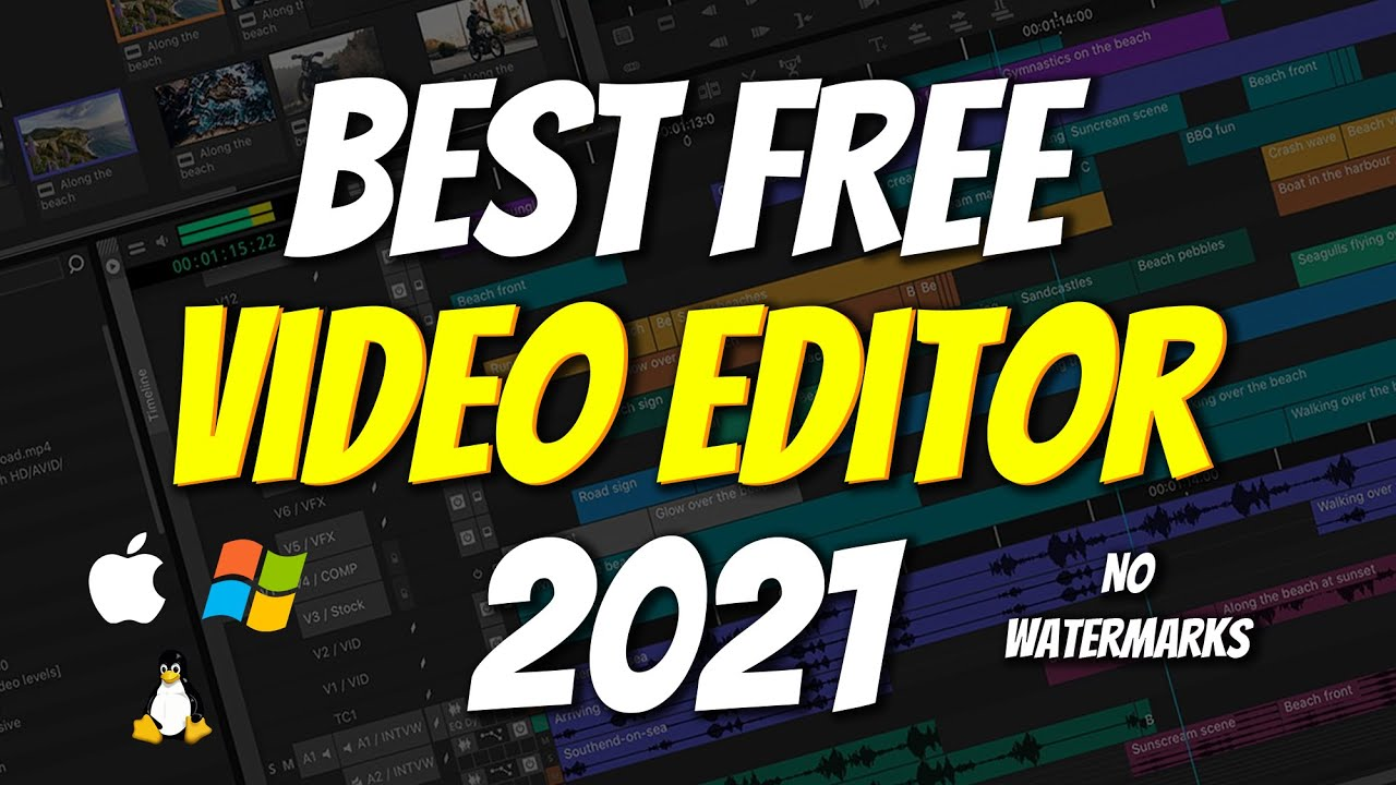 Download Top 5 BEST FREE Video Editing Software 2021 (No Watermarks)
