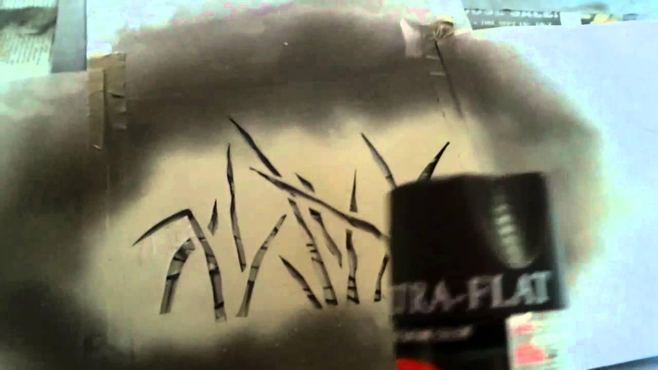 How To Spray Paint Camo Mossberg Maverick 88 Shotgun