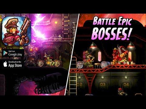 SteamWorld Heist - iOS / Android Game Trailer HD 1080p