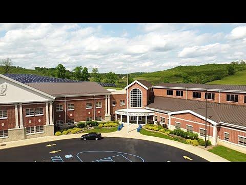 Gallia Academy High School GAHS Drone View From A Mavic Mini
