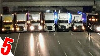 We Blocked The Whole Highway, With 13 Trucks... To Save...