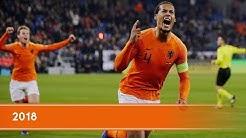 De mooiste momenten van het Nederlands elftal in 2018
