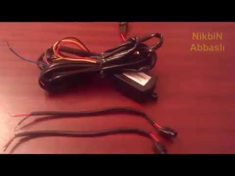 Car DRL / Daytime Running Lights Controller Module DOP-DRL0013 Strobe - Wiring Diagram / Test
