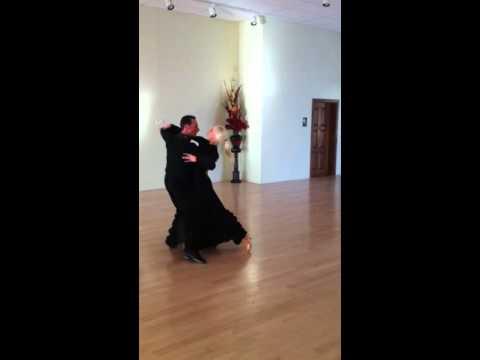 Igor Suvorov and Inna Berlizyeva dancing Tango!