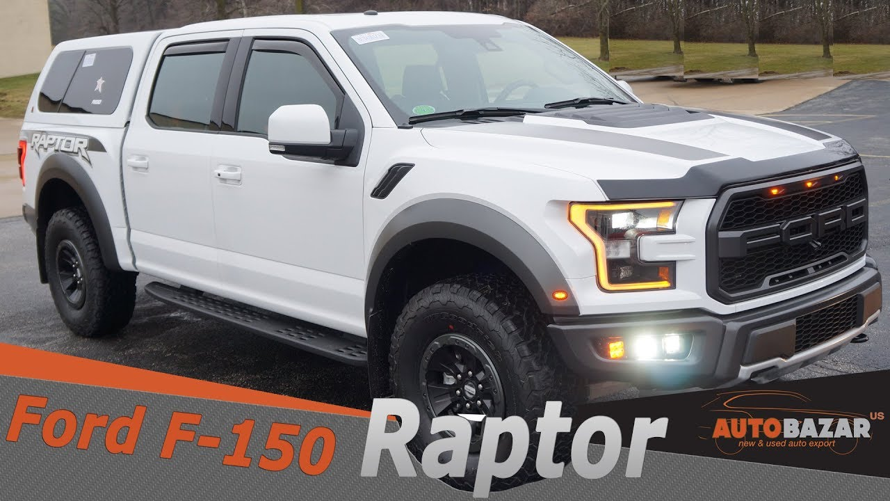 2018 Ford F-150 Raptor видео. Тест драйв Новый Форд Раптор 2018 на Русском. Авто США.