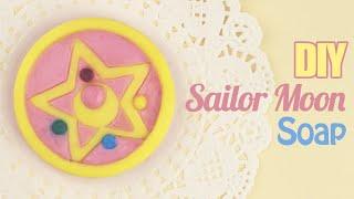 DIY: Sailor Moon Crystal Star Brooch Soap