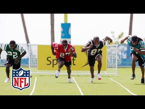 Fastest Man Competition (2007) | NFL Pro Bowl Skills Challenge