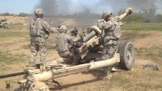 Artillery Movement Training At Fort Drum