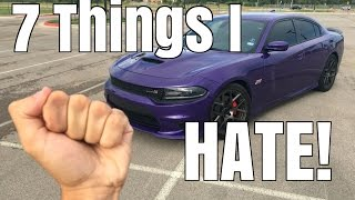 7 Things I HATE About My Dodge Charger SCAT PACK