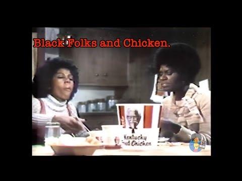 Black Folks and Chicken: KFC TV Ads 1967  Today