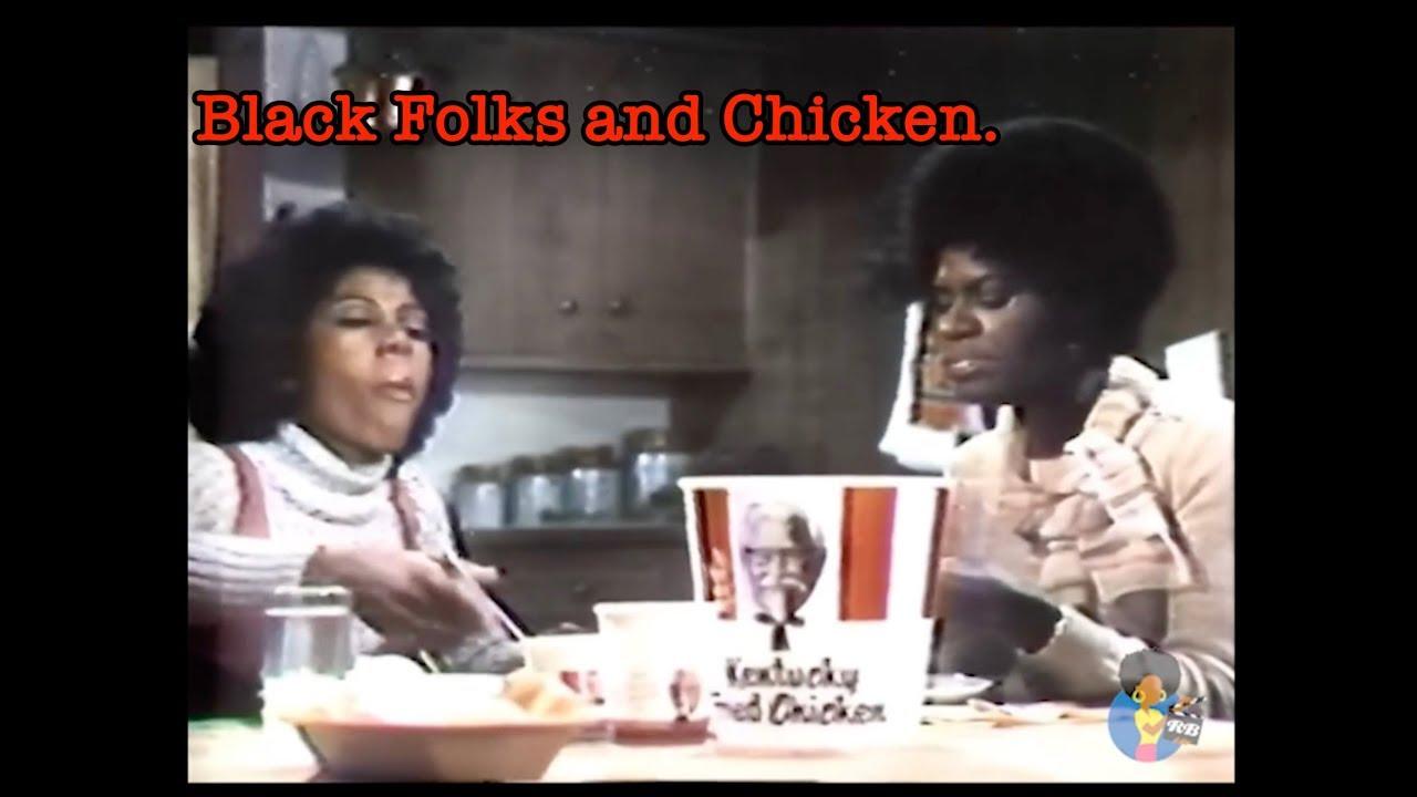 black folks and chicken