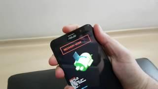 Formatando Asus Zenfone 2 - HardReset