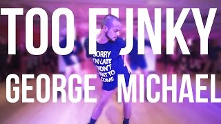 "YANIS MARSHALL HEELS CHOREOGRAPHY ""TOO FUNKY"" GEORGE MICHAEL. BROADWAY DANCE CENTER NEW YORK CITY"