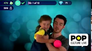 Kevin Jonas brought Alena in the studio to help him with his work (Pop Culture Live)