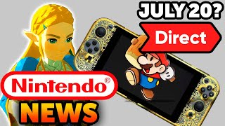July 20 Nintendo Direct? Next Switch Hints? Breath of the Wild 2 IGN Fail